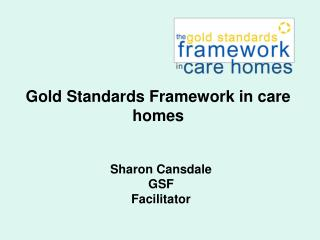 Sharon Cansdale GSF Facilitator