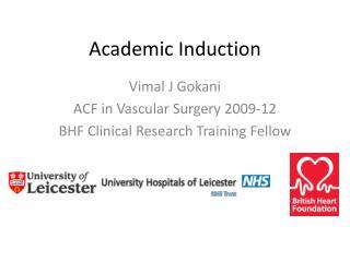 Academic Induction