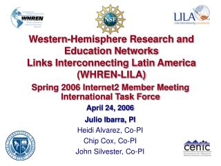 Spring 2006 Internet2 Member Meeting International Task Force