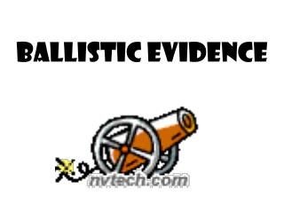 Ballistic Evidence