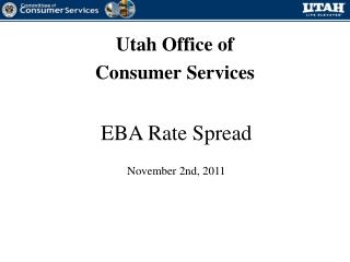 Utah Office of  Consumer Services