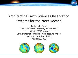 Architecting Earth Science Observation Systems for the Next Decade