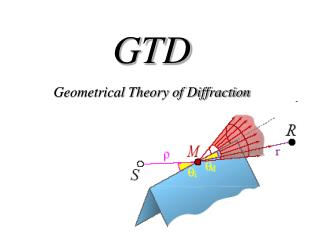 GTD Geometrical Theory of Diffraction