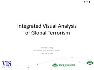 Integrated Visual Analysis  of Global Terrorism