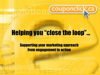 """Helping you """"close the loop""""…"""
