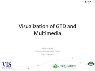 Visualization of GTD and Multimedia