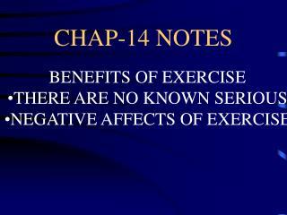 CHAP-14 NOTES