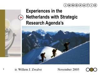 Experiences in the Netherlands with Strategic Research Agenda's