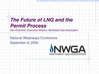 National Waterways Conference September 8, 2006