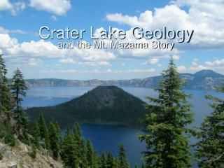 Crater Lake Geology