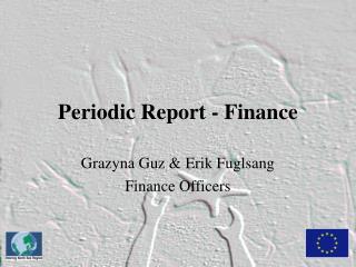 Periodic Report - Finance