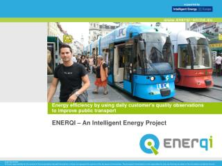 Energy efficiency by using daily customer's quality observations  to improve public transport