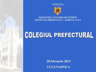 28 februarie 2013 CLUJ-NAPOCA