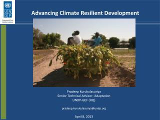 Advancing Climate Resilient Development