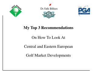 My Top 3 Tips: [Title]  My Top 3 Recommendations On How To Look At Central and Eastern European