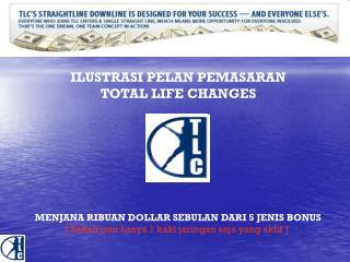 ILUSTRASI PELAN PEMASARAN TOTAL LIFE CHANGES
