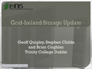 Grid-Ireland Storage Update