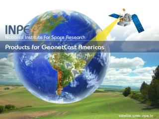 INPE / CPTEC  Satellite and Environmental Systems
