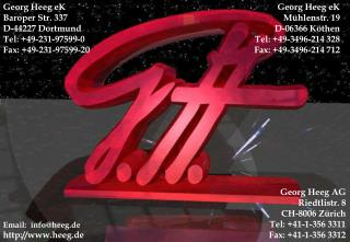 Georg Heeg eK Baroper Str. 337 D-44227 Dortmund Tel: +49-231-97599-0 Fax: +49-231-97599-20