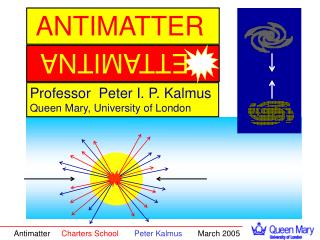 Professor  Peter I. P. Kalmus Queen Mary, University of London