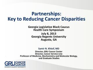 Georgia Legislative Black Caucus  Health Care Symposium