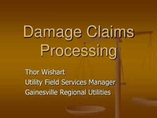 Damage Claims Processing