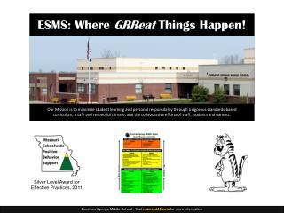 ESMS New Teacher Orientation