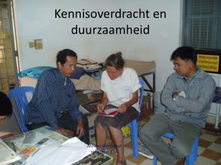 Kennisoverdracht en duurzaamheid