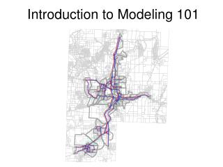 Introduction to Modeling 101