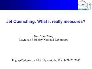 Jet Quenching: What it really measures?