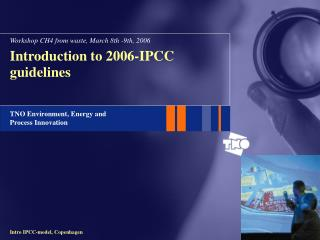 Introduction to 2006-IPCC guidelines