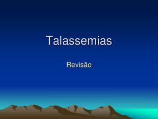 Talassemias