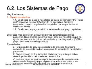 6.2. Los Sistemas de Pago