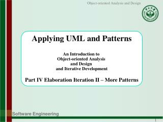 Chap 26 Applying GoF Design Patterns