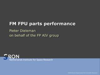 FM FPU parts performance