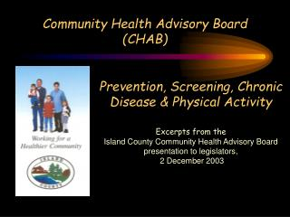 Community Health Advisory Board (CHAB)