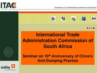 International Trade Administration Commission of South Africa