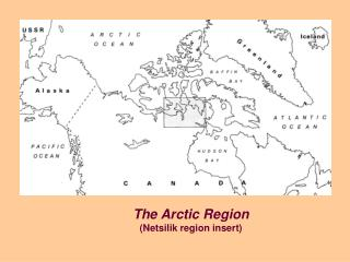 The Arctic Region Netsilik region insert