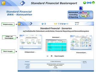 Standard Financial  BWA - Kennzahlen