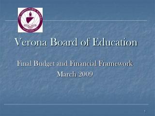 Verona Board of Education