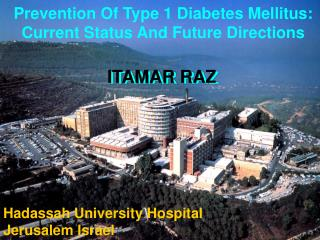 Prevention Of Type 1 Diabetes Mellitus: Current Status And Future Directions