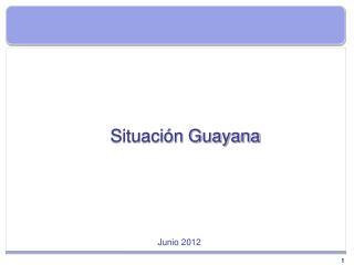 Situación Guayana