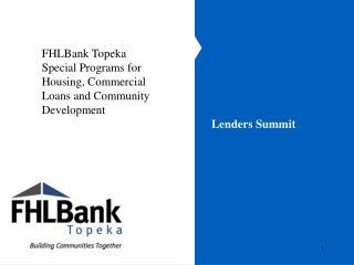 Lenders Summit