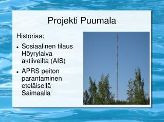 Projekti Puumala