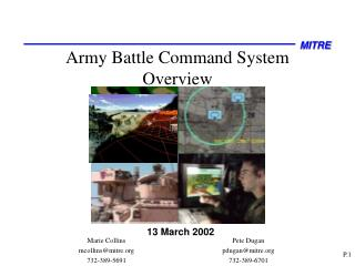 Army Battle Command System Overview