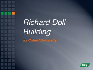 Richard Doll Building