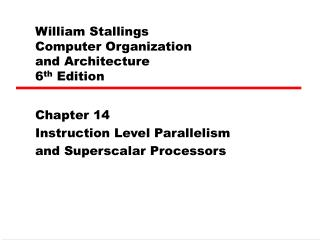 William Stallings  Computer Organization  and Architecture 6th Edition