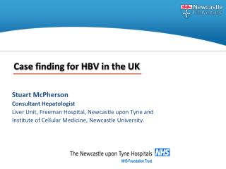 Case finding for HBV in the UK