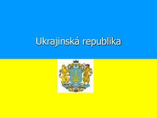 Ukrajinská republika