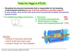 Tools for Higgs in ATLAS
